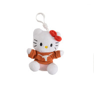 Texas Longhorn Hello Kitty Keychain