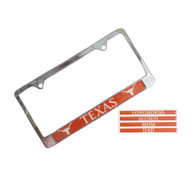 Texas Longhorn License Plate Cover
