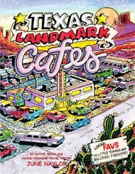Texas Landmark Cafes-Tiny Book