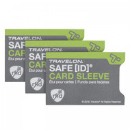 Travelon RFID Blocking Sleeves (Set of 3)