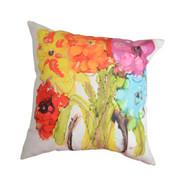 MWW Lovitude Rainbow Flowers Pillow