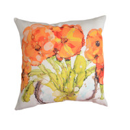 MWW Lovitude Orange Poppy Pillow