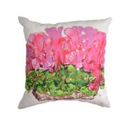 MWW Lovitude Pink Geraniums Pillow