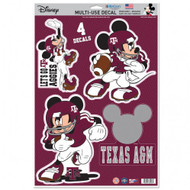 A&M Mickey Mouse Decals (Set of 4)