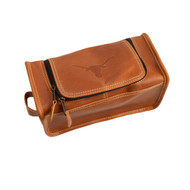 Texas Longhorn Leather Travel Kit (CS449)
