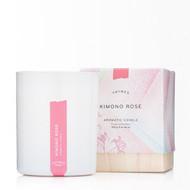 Thymes Kimono Rose Candle 10 oz