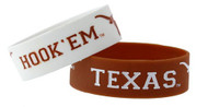 Texas Longhorn Wide Band Bracelets (2 Pack)