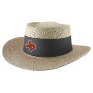 Team Color Tournament Straw Gambler Hat (88-Bircha)