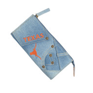 Texas Longhorn Denim Wallet