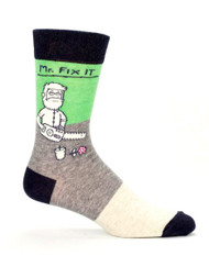 Blue Q Mr. Fix It Socks (SW807)