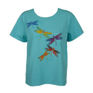 Sabaku Short Sleeve Dragons Fly Tee (323TURssbt)