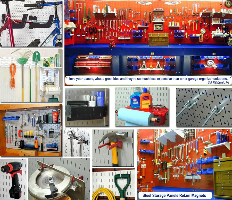 Garage Pegboard Tool Organizers Gallery Of Storage And Organization Ideas