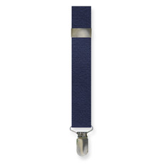 New Navy Blue Clip On Suspenders