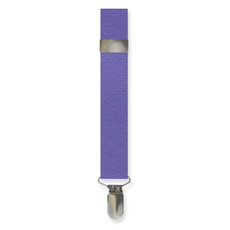 New Purple Clip On Suspenders