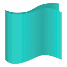 New Tiffany Blue Satin Pocket Square