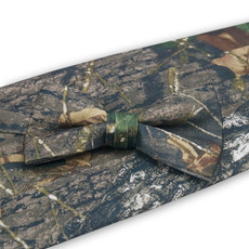 Camouflage Bow Tie and Cummerbund Set