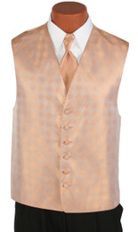 Mandarin Perry Ellis Vest and Long Tie