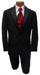 Ralph Lauren Black Newport Tuxedo Jacket and Pants