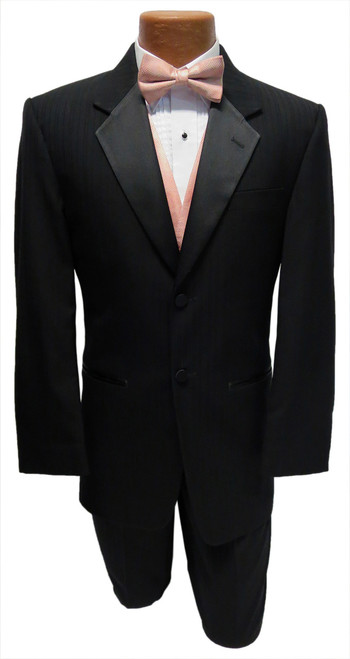 Jean Yves Black Parisian Tuxedo Jacket and Pants