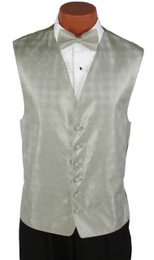 Celedon Green Perry Ellis Vest and Bow Tie