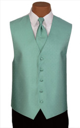 "Ralph Lauren ""Vineyard"" Vest and Tie in Teal"