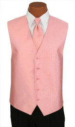 "Ralph Lauren ""Vineyard"" Vest and Long Tie in Candy Pink"