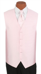 "Ralph Lauren ""Vineyard"" Vest and Long Tie in Pearl Pink"