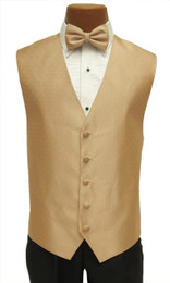 "Ralph Lauren ""Vineyard"" Vest and Long Tie in Golden"