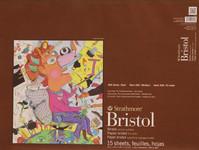 "341714, Strathmore Bristol Vellum Pad 400 srs, 18""x24"""