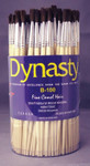 406910, Dynasty B100 Camel Hair Brushes, Rounds, 144/ct.