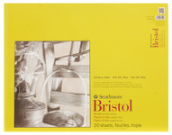 "341709, Strathmore Bristol Smooth Pad 300 Series, 19""x24"", 20 sheets"