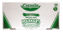 438012, Crayola Markers, Conical tip, 256 Marker Classpack
