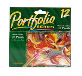 446520, Portfolio Series Water Soluble Oil Pastel Set, 12/pastels