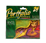 446521, Portfolio Series Water Soluble Oil Pastel Set, 24/pastels