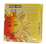 447652, Cray-Pas Junior Artist Oil Pastel, 12 colors, 432 ct. Classpack