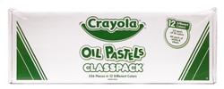 446525, Crayola Oil Pastel, 12 colors, 336 ct. Classpack
