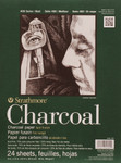 "341766, Strathmore Charcoal 400 Series Pad, 9""x12"""
