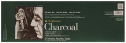 "341768, Strathmore Charcoal 400 Series Pad, 6""x18"""