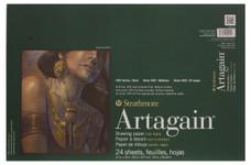 "347114, Strathmore Artagain 400 Series Coal Black, 12""x18"""