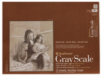 "347127, Strathmore Gray Scale 400 Series Pad, 18""x24"""