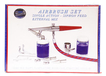 487031, Paasche Single Action Airbrush Set, H-Set