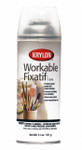 572315, Krylon Workable Fixatif, 11 oz. Spray Can
