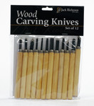 571120, Woodcarving Knife Set, 12/Knives