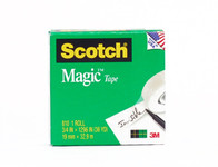 "572207, Scotch Magic Tape, 3/4"" x 1296', 2 Pack"