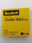 "572209, Double Stick Tape, 1/2"" x 25yd."