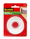 "572217, Scotch Mounting Tape, 1/2"" x 75"""