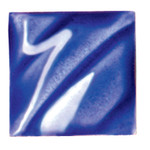 611206, Amaco Gloss Glaze , Lead Free, Cone 06-05, Pint, LG-21, Dark Blue
