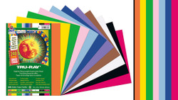 "342120, Tru-ray Construction Paper, Bright Assorted, 9""x12"""