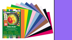 "342127, Tru-ray Construction Paper, Violet, 9""x12"""
