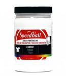 629103, Speedball  Waterbased Textile Screen Printing Ink, White, 32oz.